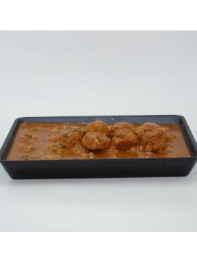 Boulettes porc et boeuf  sauce tomate