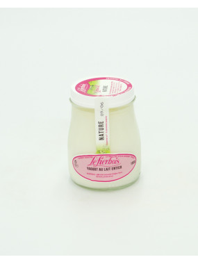 Yaourt au lait entier nature de chez Philippe Olivier