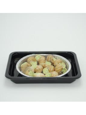 Assiette de douze Escargots de Bourgogne