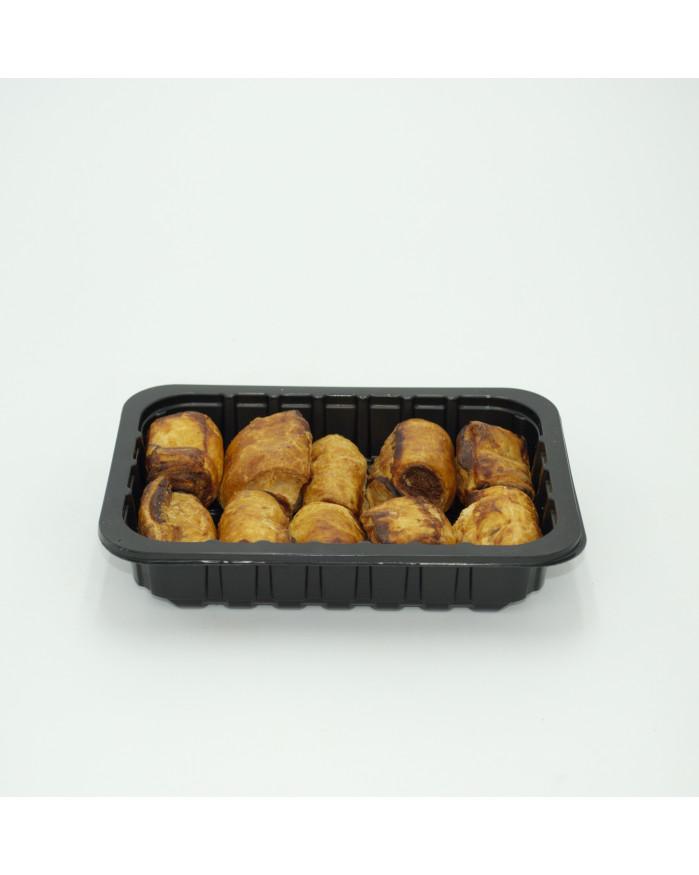 Feuilletes saucisses, plateau de 10 pieces