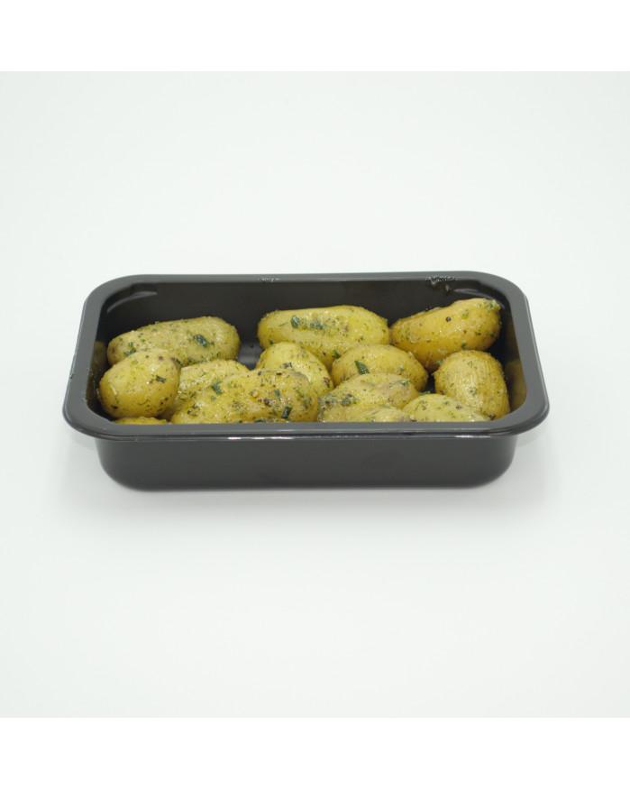 Pommes de terre marinées