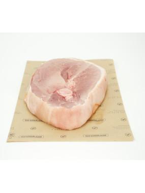 Rouelle de porc dans le jambon prête à cuire