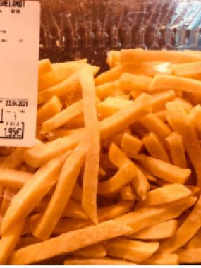 Frites fraiches precuites (500 g)