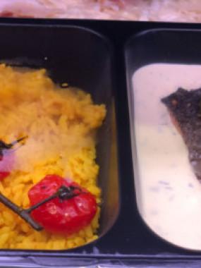 Pavé de saumon sauce béarnaise